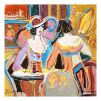 "Isaac Maimon Signed ""Special Moments Like These"" 22x22 Original Acrylic Painting at PristineAuction.com"