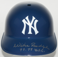 "Willie Randolph Signed Yankees Full-Size Replica Batting Helmet Inscribed ""77-78 W.S.C."" (JSA COA) at PristineAuction.com"