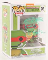 "Kevin Eastman Signed Teenage Mutant Ninja Turtles ""Raphael"" 8-Bit POP! Vinyl Figure with Hand-Drawn Turtles Sketch (PA COA)"