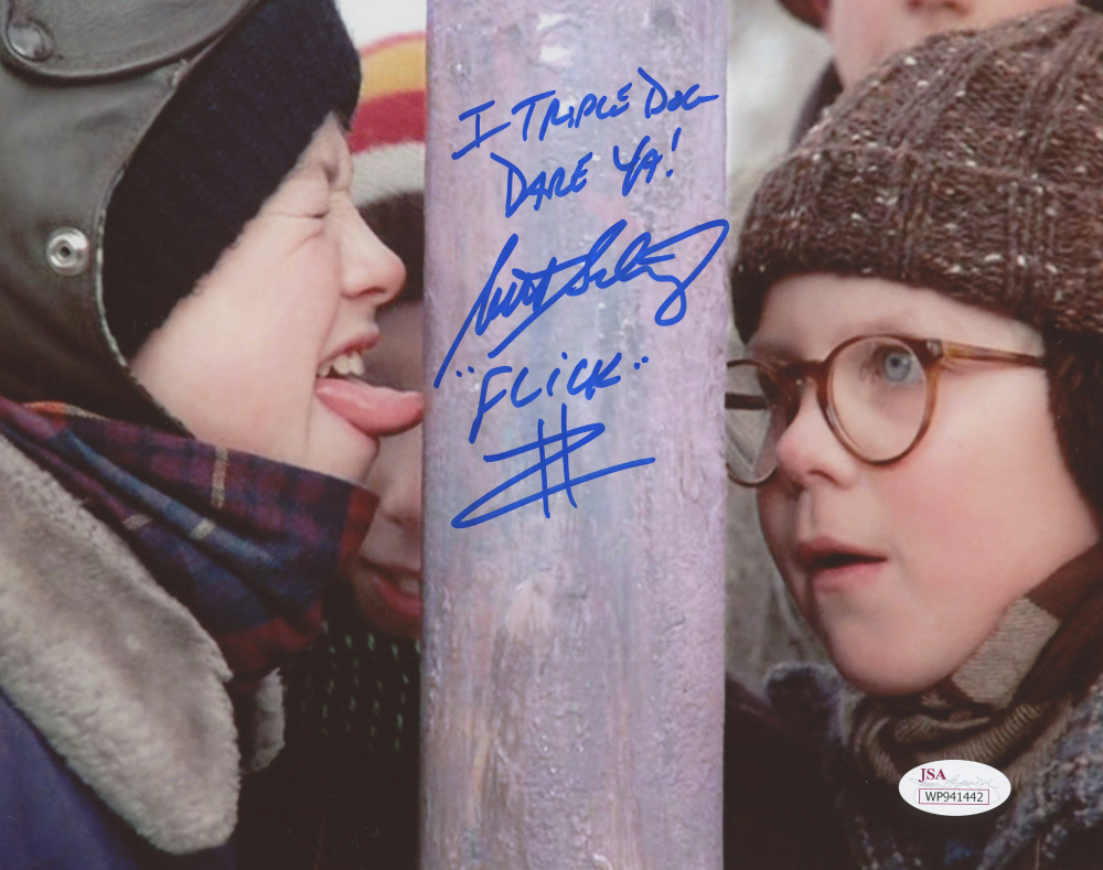 scott schwartz signed a christmas story 8x10 photo inscribed flick - A Christmas Story Online