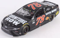 Martin Truex Jr. Signed NASCAR #78 Furniture Row - Watkins Glen Win - 2017 1:24 LE Premium Action Diecast Car (Raced Version) (PA COA)
