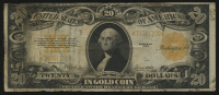 1922 $20 Twenty Dollars U.S. Gold Certificate Large Size Bank Note
