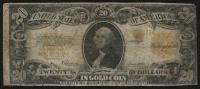 1922 $20 Twenty Dollars U.S. Gold Certificate Large Size Bank Note