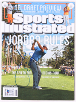Jordan Spieth Signed 2015 Sports Illustrated Magazine (Beckett COA) at PristineAuction.com