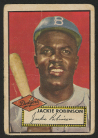 1952 Topps #312 Jackie Robinson
