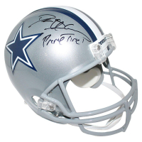 "Deion Sanders Signed Cowboys Full Size Helmet Inscribed ""Primetime"" (Steiner COA)"