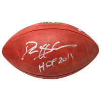 "Deion Sanders Signed NFL ""The Duke"" Football Inscribed ""HOF 2011"" (Steiner COA)"