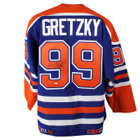 Wayne Gretzky Signed Oilers Jersey (UDA COA) at PristineAuction.com