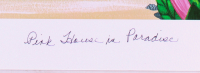 "Dan Mackin - ""Pink House in Paradise"" Signed Limited Edition 20x24 Fine Art Giclee #/275 (Mackin COA & PA LOA) at PristineAuction.com"