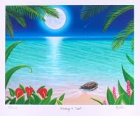 "Dan Mackin - ""Making a Wish"" Signed Limited Edition 20x24 Fine Art Giclee #/275 (Mackin COA & PA LOA)"