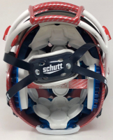Tom Brady Signed Patriots LE Custom Hydro Dipped Red Full-Size Authentic On-Field Helmet (Tristar Hologram) at PristineAuction.com