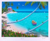 "Dan Mackin - ""Heaven"" Signed Limited Edition 20x24 Fine Art Giclee #/275 (Mackin COA & PA LOA)"