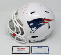 "Tom Brady Signed Patriots LE ""Tom Brady Edition"" Full-Size Authentic On-Field Helmet (Steiner COA & TriStar Hologram)"
