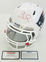 "Tom Brady Signed Patriots LE ""Tom Brady Edition"" Full-Size Authentic On-Field Helmet (Steiner COA & TriStar Hologram) at PristineAuction.com"
