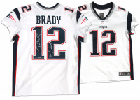 "Tom Brady Signed Patriots LE Jersey Inscribed ""SB 51 Champs"" (Steiner COA & TriStar Hologram) at PristineAuction.com"