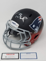 "Tom Brady Signed Limited Edition Patriots ""Fade to Black"" Full-Size Authentic On-Field Helmet (Steiner COA & TriStar Hologram)"