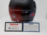 "Tom Brady Signed Limited Edition Patriots ""Fade to Black"" Full-Size Authentic On-Field Helmet (Steiner COA & TriStar Hologram) at PristineAuction.com"