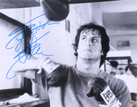 Sylvester Stallone Signed 11x14 Photo (Online Authentics COA)