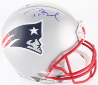 Tom Brady Signed Patriots Full-Size On-Field Helmet (Radtke COA & TriStar Hologram)