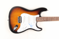 Chris Cornell Signed Full-Size Fender Squier Sunburst Electric Guitar (Beckett COA)