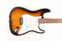 Gordon Lightfoot Signed Full-Size Fender Squier Sunburst Electric Guitar (JSA COA)