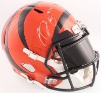 A.J. Green Signed Bengals Full-Size Speed Helmet With Black Visor (JSA COA)