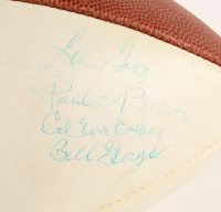 "1974 Hall of Fame Enshrinement NFL Football Signed by (8) with Lou Groza, Paul Brown, and Dick ""Night Train"" Lane (PSA LOA) at PristineAuction.com"