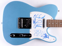 Chickenfoot Squier Electric Guitar Signed by (4) with Chad Smith, Michael Anthony, Joe Satriani & Sammy Hagar (JSA LOA)