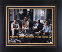 "Mike Tyson Signed ""The Hangover"" 23.5x27.5 Custom Framed Photo Display (JSA COA)"