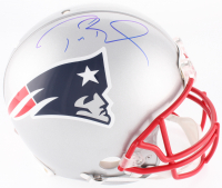 Tom Brady Signed New England Patriots Full-Size On-Field Helmet (Tristar Hologram)