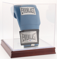 Mike Tyson Signed Everlast USA Boxing Glove with Display Case (PSA COA)