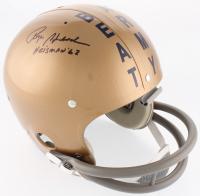 "Roger Staubach Signed Full-Size Throwback Suspension Helmet Inscribed ""Heisman '62"" (JSA COA) at PristineAuction.com"