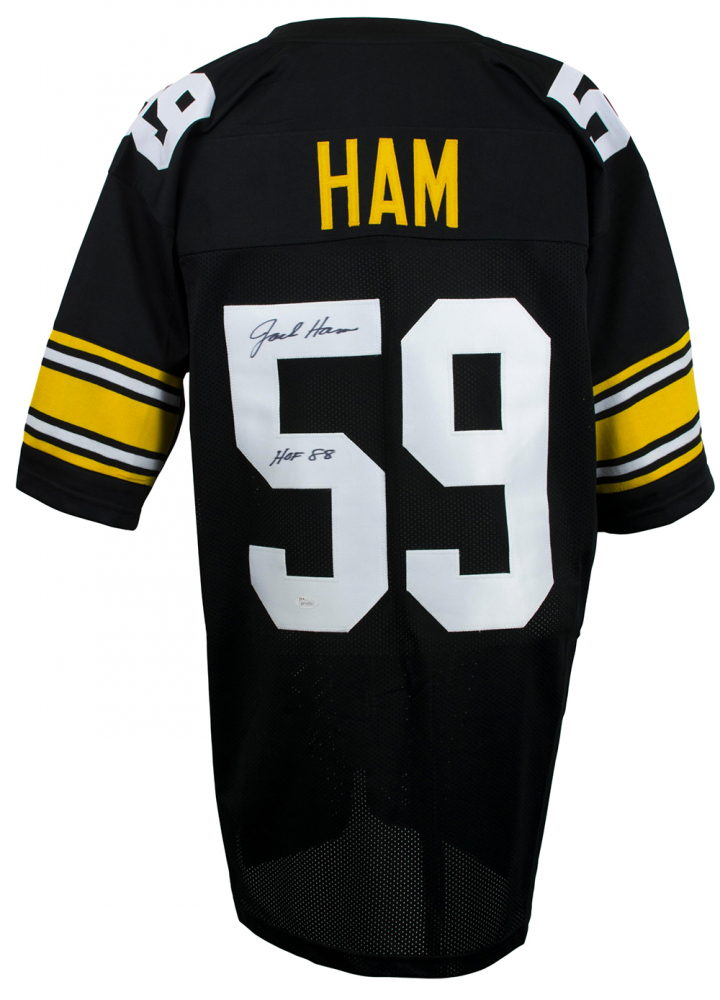 2527b87d985 Jack Ham Signed Pittsburgh Steelers Jersey Inscribed