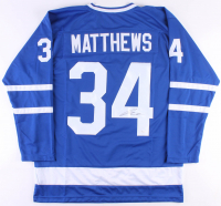 Auston Matthews Signed Maple Leafs Jersey (JSA COA)