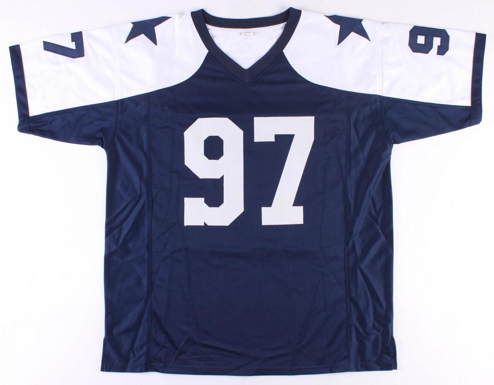 471a3142b93 Taco Charlton Signed Cowboys Jersey (Radtke COA) at PristineAuction.com