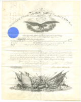 Abraham Lincoln Signed Document (Beckett LOA) at PristineAuction.com