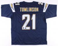 LaDainian Tomlinson Signed Jersey (Radtke COA & Tomlinson Hologram)
