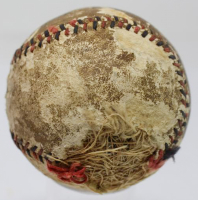 """Christy Mathewson Signed Red & Black Stitched Baseball Inscribed """"March 1918"""" (JSA LOA) at PristineAuction.com"""