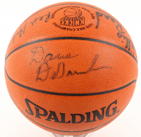 Knicks 1970 Champions Official NBA Game Ball Signed by (7) with Dave DeBusschere, Willis Reed, Red Holzman, Phil Jackson (Steiner COA) at PristineAuction.com