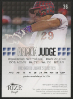 2013 Rize Draft #36 Aaron Judge at PristineAuction.com