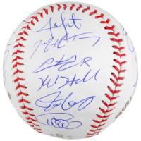 Chicago Cubs 2016 World Series Baseball Team-Signed By (20) With Kris Bryant, Anthony Rizzo, Javier Baez, Kyle Hendricks, Addison Russell (Fanatics Hologram) at PristineAuction.com