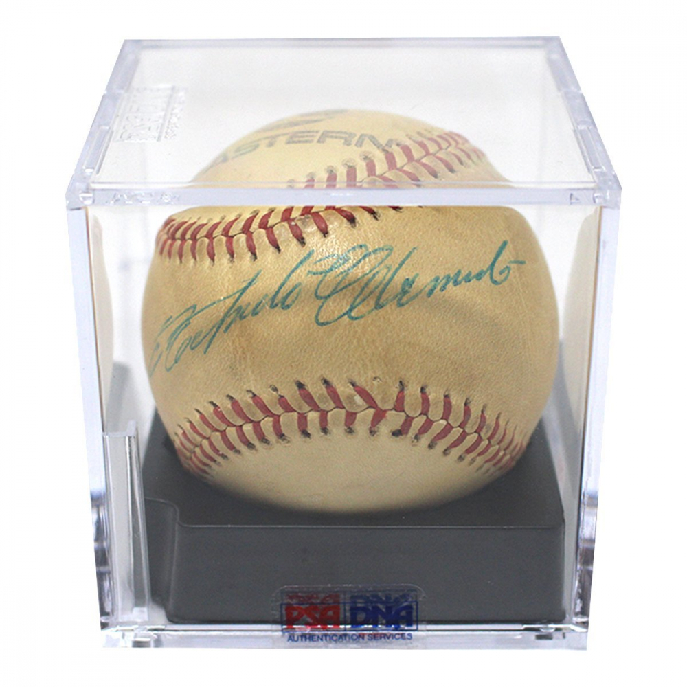 Roberto Clemente Signed Eastern League Baseball - PSA Graded 8 (PSA LOA) at PristineAuction.com
