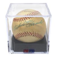 Roberto Clemente Signed Eastern League Baseball - PSA Graded 8 (PSA LOA)