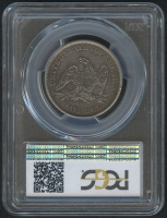 1861-O 50¢ Seated Liberty Half Dollar (PCGS XF 45) at PristineAuction.com