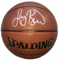 Larry Bird Signed NBA Basketball (Beckett COA & Bird Hologram)
