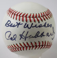 "Cal Hubbard Signed OAL Baseball Inscribed ""Best Wishes"" (JSA LOA)"