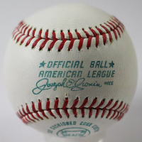 "Cal Hubbard Signed OAL Baseball Inscribed ""Best Wishes"" (JSA LOA) at PristineAuction.com"