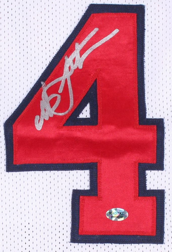 0734ad98737 Christian Laettner Signed Team USA