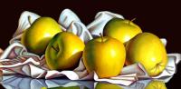 "Hugo Zavaleta Signed ""Golden Delights"" 28x51 Original Oil Painting on Canvas (PA LOA)"