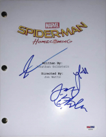 "Tom Holland, Laura Harrier & Jacob Batalon ""Spider-Man: Homecoming"" Full Movie Script (PSA LOA) at PristineAuction.com"